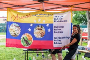 Arepas Sign